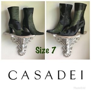 Casadei Cow Skin Boots